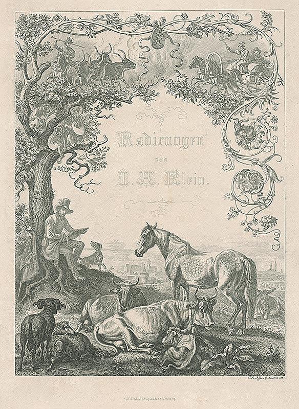 Johann Adam Klein – Radirungen von J.A.Klein