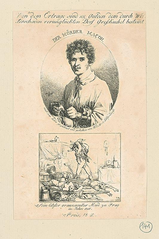 Ferdinand Karl Theodor Lütgendorff – Podobizeň vraha Macona