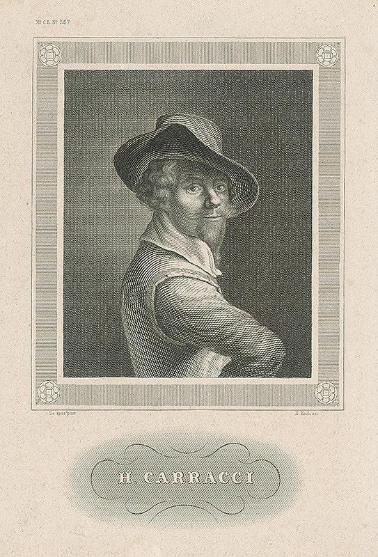 D. Koch - Podobizeň A.Carracciho