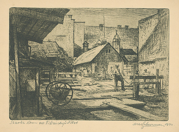 Maximilián Schurmann – Stavba domu na Vikárskej v Nitre