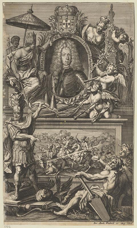 Jacob Andreas Fridrich - Podobizeň Emanuela kráľa portugalského