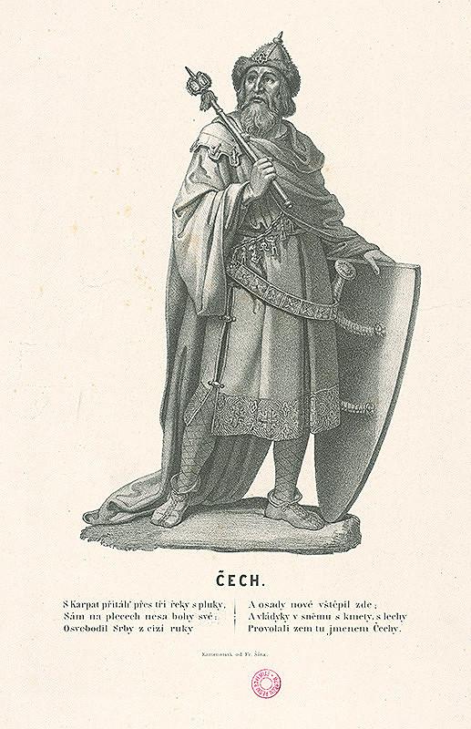 František Šír - Praotec Čech