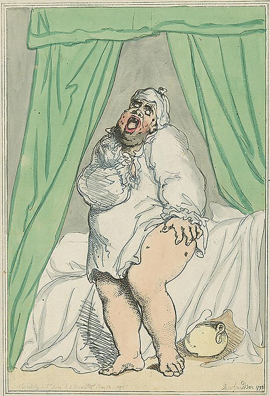 Thomas Rowlandson – Karikatúra
