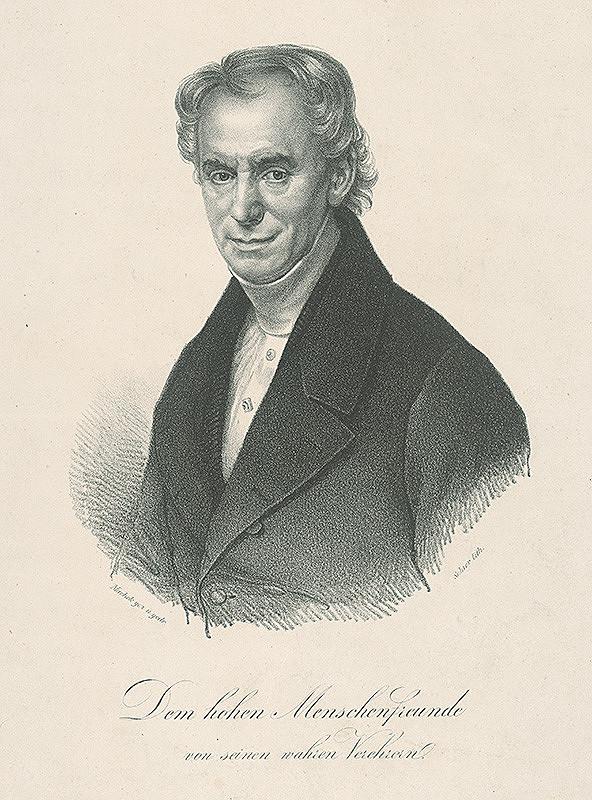 František Šír, Antonín Machek - Podobizeň MUDr. Rudolfa Schallera