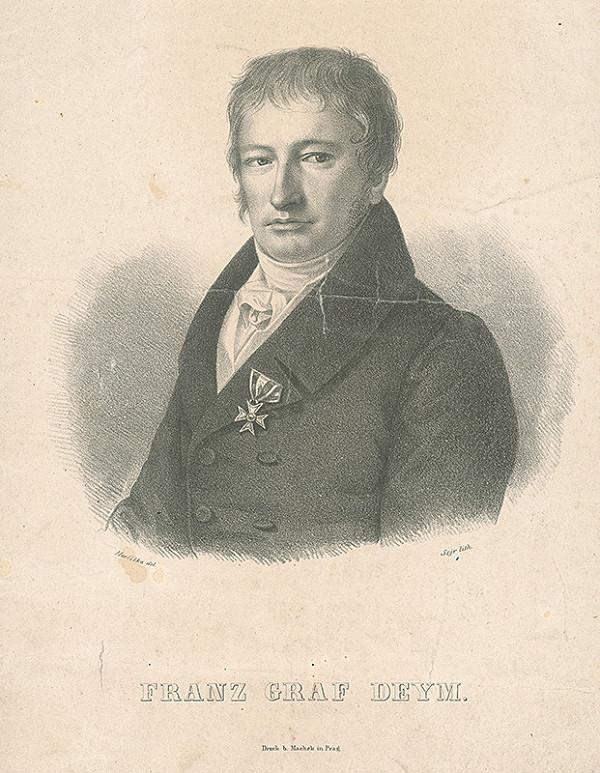 František Šír, František Horčička - Gróf František Deym