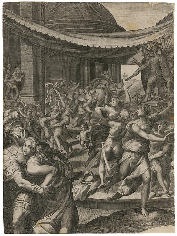 Aegidius Sadeler II. – Únos Sabiniek