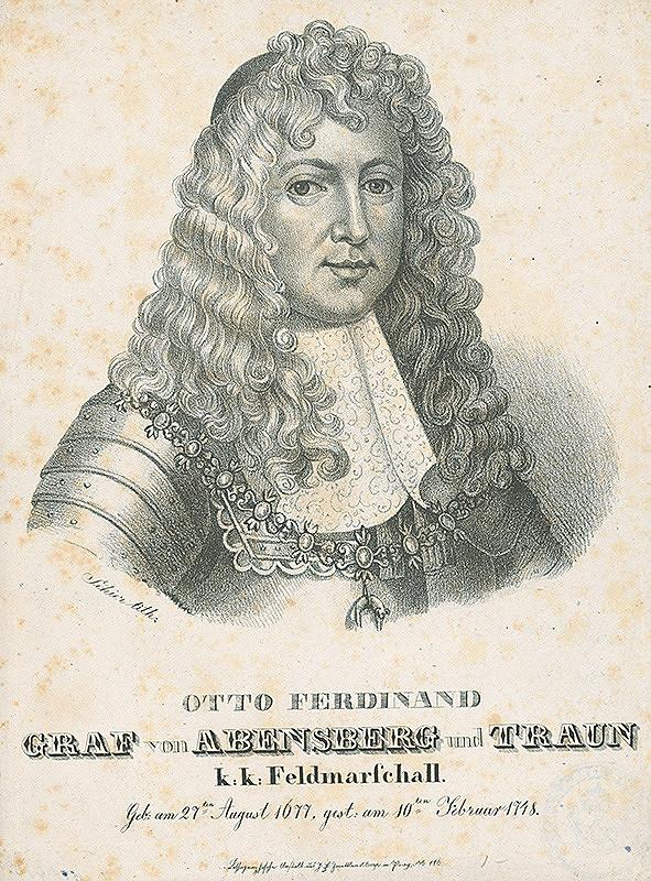 František Šír – Podobizeň Otta Ferdinanda, poľný maršál