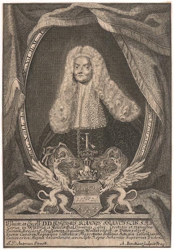 Anton Birkhart – Podobizeň grófa Jozefa Wrbnu