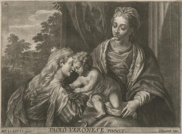 Anton Jozef Prenner, Paolo Veronese – Zasnúbenie sv.Kataríny