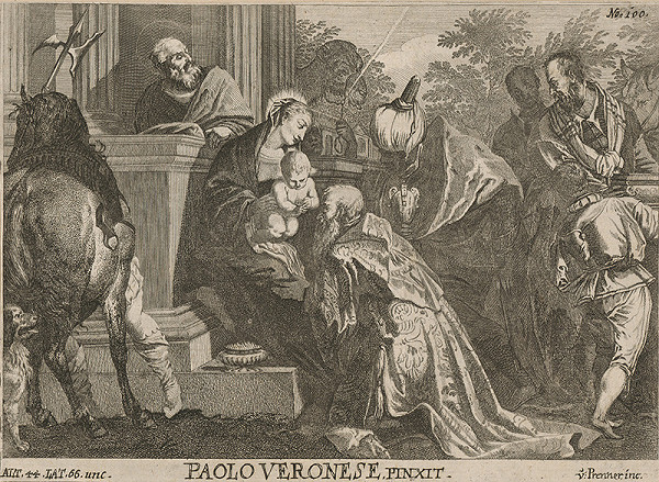 Anton Jozef Prenner, Paolo Veronese - Klaňanie troch kráľov
