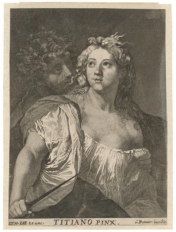 Anton Jozef Prenner, Titian – Sebevražda Lukrécie