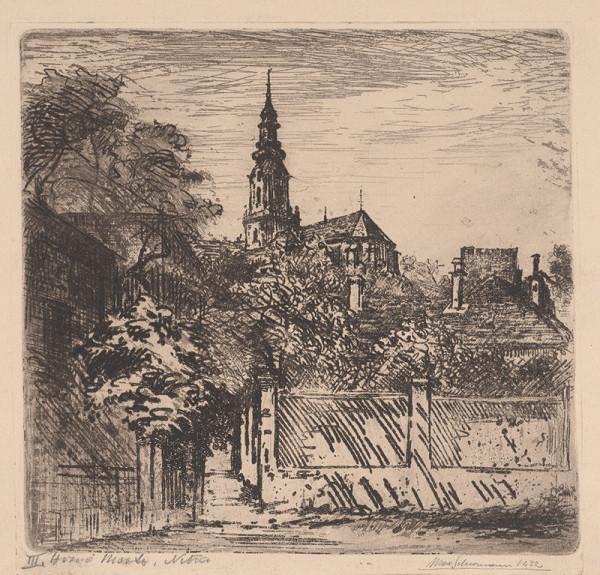 Maximilián Schurmann – Horné mesto Nitra