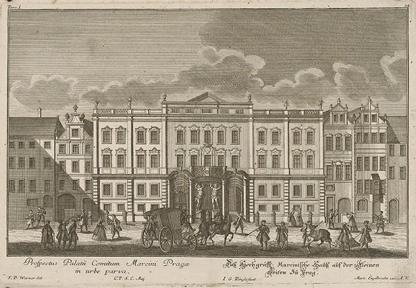 Johann Georg Ringle, Friedrich Bernhard Werner – Morzinský palác v Prahe