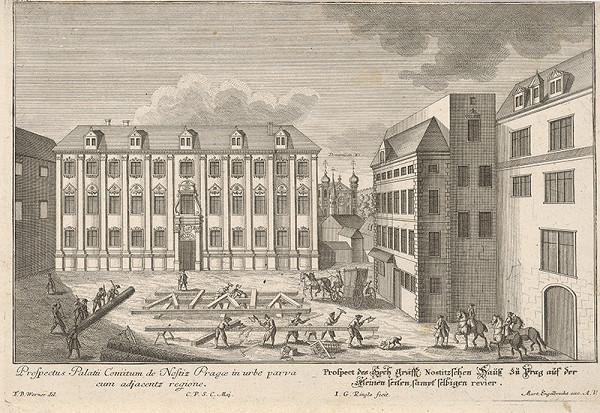 Johann Georg Ringle, Friedrich Bernhard Werner – Nostický palác v Prahe