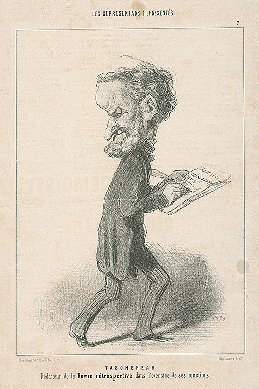 Honoré Daumier – J. Antoine Taschereau