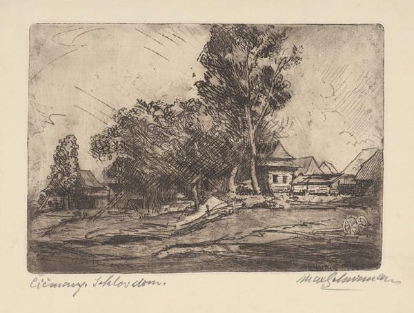 Maximilián Schurmann – Čičmany, Jarlov dom