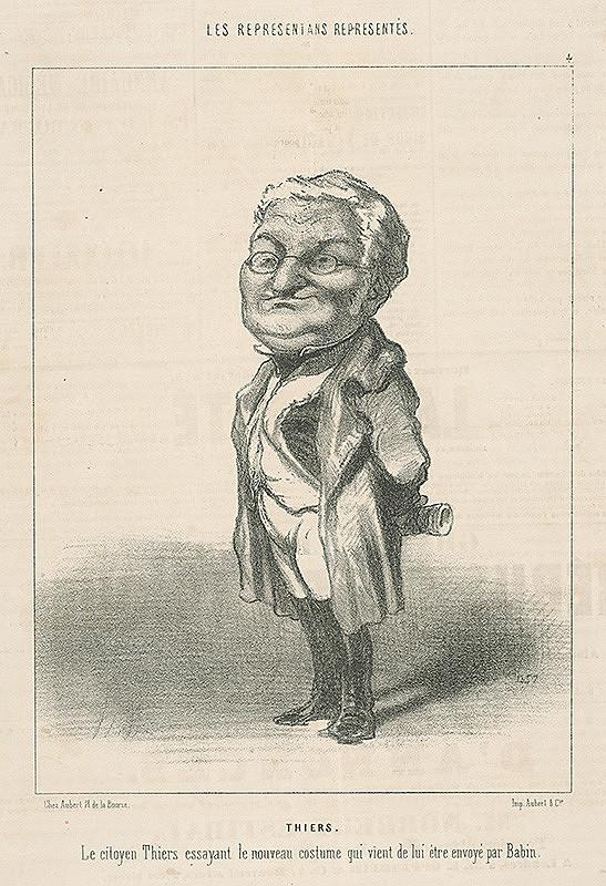 Honoré Daumier – Thiers