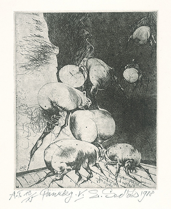 Emil Sedlák - Pavúky V.