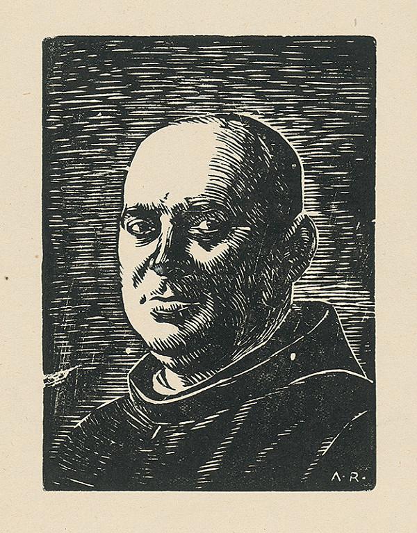 Alojz Rigele - Portrét I.Páter Felicián