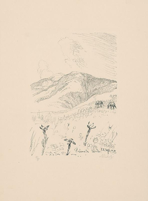 Max Švabinský – Horec na horách