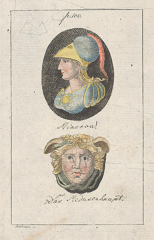 Andreas Withalm - Minerva a hlava Medúzy