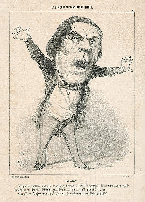 Honoré Daumier - Denjou