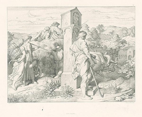 Alois Petrák, Joseph von Führich – Na ceste