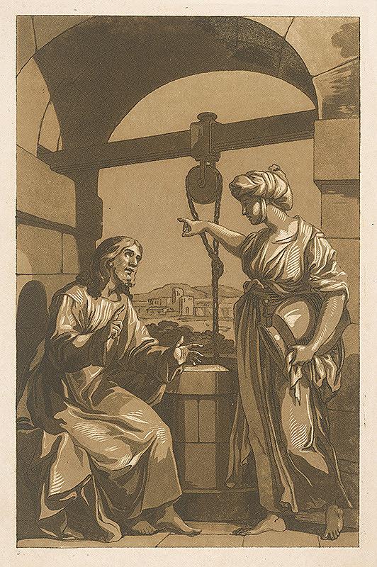 Neznámy autor – Kristus a žena pri studni