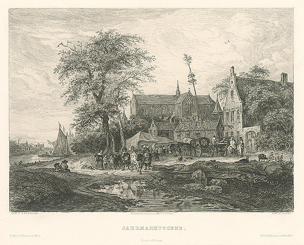 William Unger, Salomon van Ruysdael - Jarmok