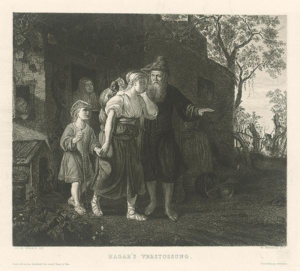 Wilhelm Woernle, Philipp de Koninck – Vyhnanie Hagary