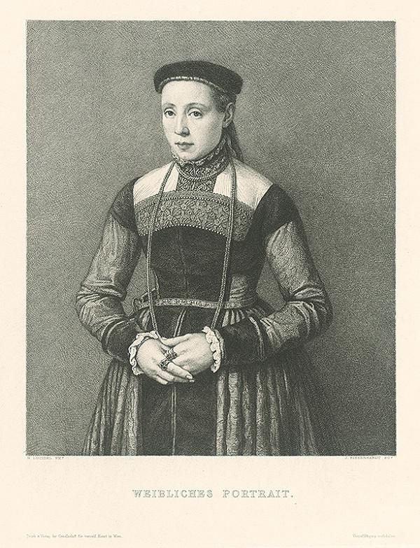 Johannes Kaspar Eissenhardt, Nicolas Neufchatel - Podobizeň ženy