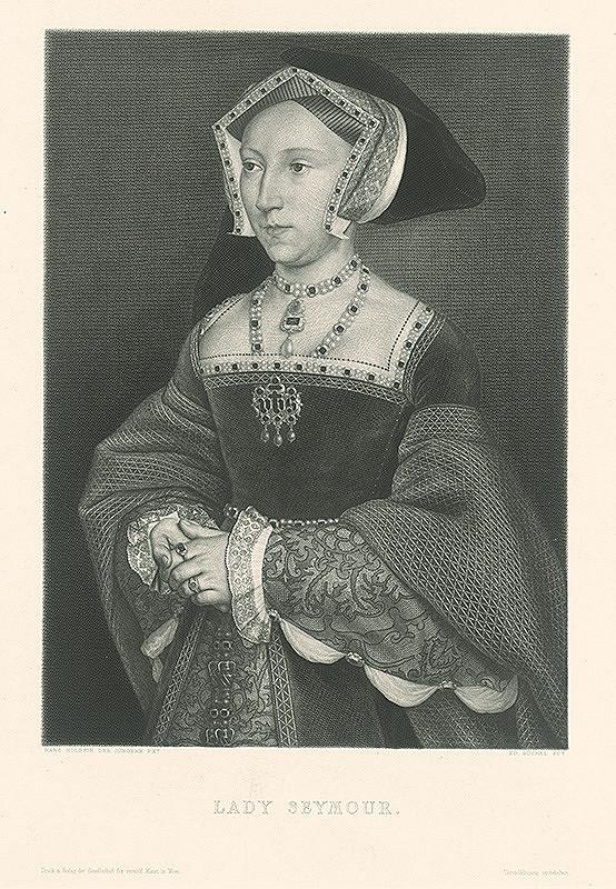 Eduard Büchel, Hans Holbein st. - Podobizeň Lady Seymour