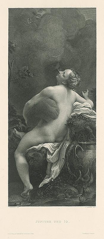 Johann Lindner, Antonio Allegri Correggio – Jupiter a Jo