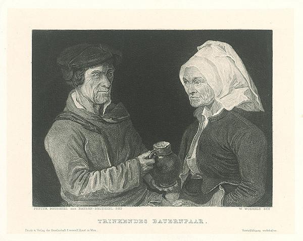 Wilhelm Woernle, Pieter Brueghel – Popíjajúci dedinský pár