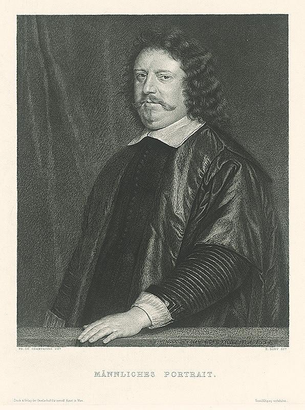Jenö Doby, Philippe de Champaigne - Podobizeň muža