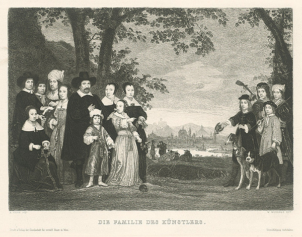 Wilhelm Woernle, Aelbert Cuyp – Umelcova rodina