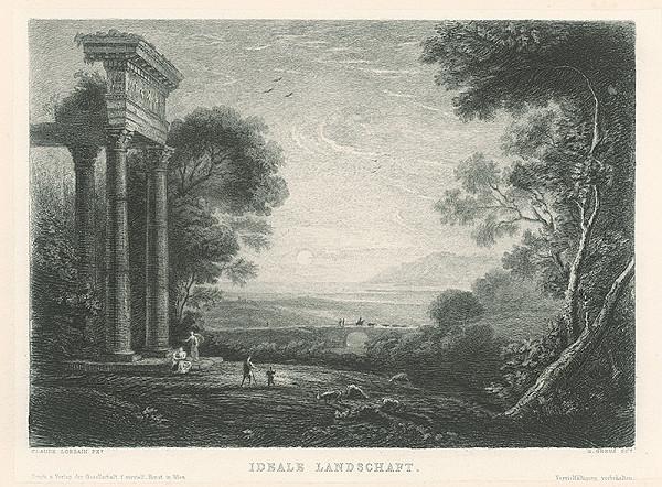 Gustave Greux, Claude Lorrain – Ideálna krajina