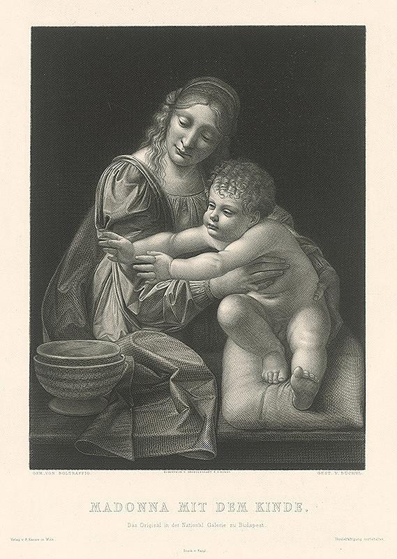 Eduard Büchel, Giovanni Antonio Boltraffio - Madona s dieťaťom
