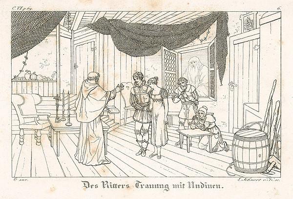 Ludwig Ferdinand Schnorr von Carolsfeld - Sobáš rytiera a Undiny