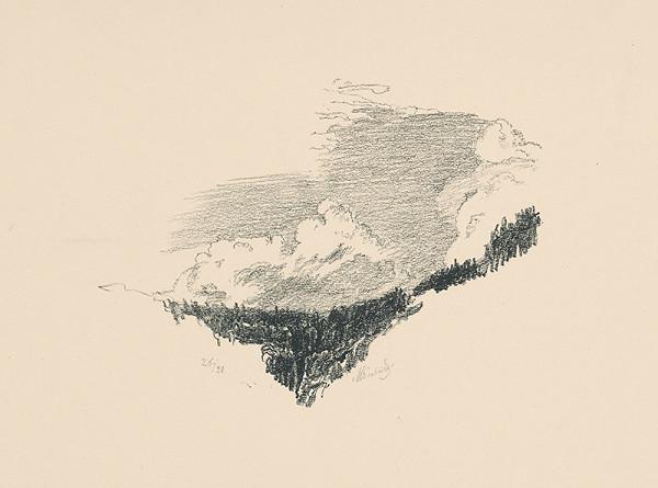 Max Švabinský – Lesy a mraky