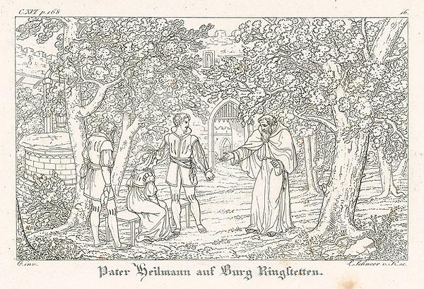Ludwig Ferdinand Schnorr von Carolsfeld - Peter Heilmann na zámku Ringstetten