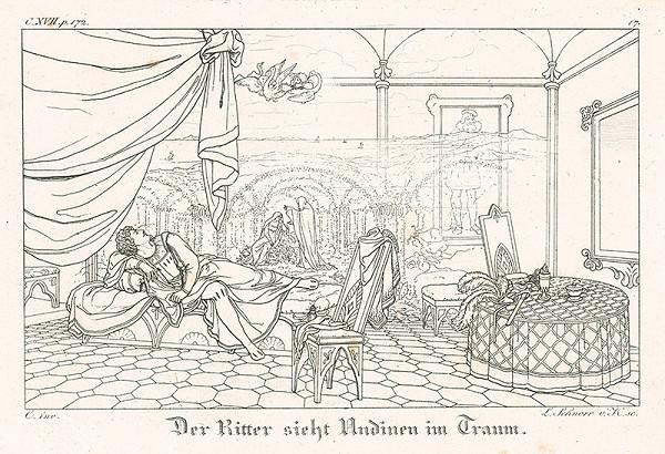 Ludwig Ferdinand Schnorr von Carolsfeld - Rytier vidí Udinu vo sne