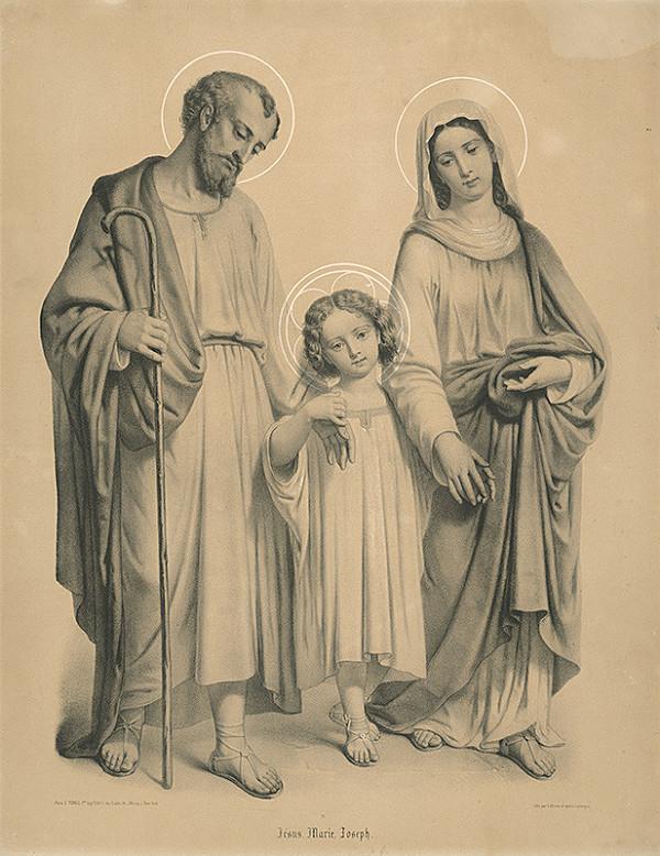 Jean-Baptiste Adolphe Lafosse – Svätá rodina