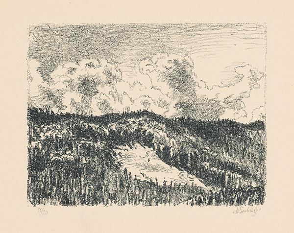 Max Švabinský – Augustový deň na Muránskej planine