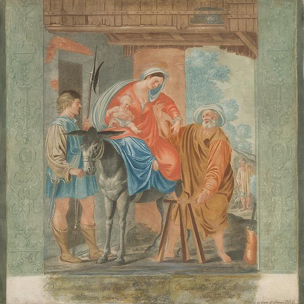 Giovanni Mannozzi, Giovanni da San Giovanni - Útek do Egypta