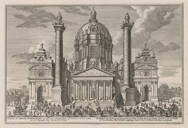 Salomon Kleiner, Hieronymus Sperling - Kostol sv. Karola Boromejského vo Viedni
