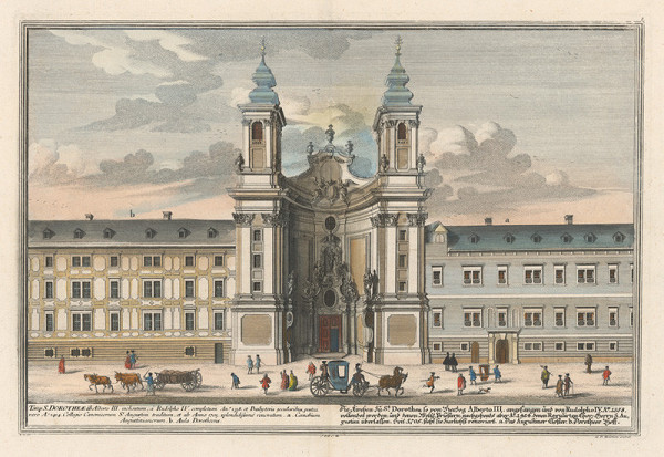 Salomon Kleiner, Georg Daniel Heumann – Kostol sv. Doroty vo Viedni