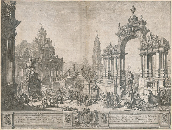 Jean-Joseph Chamant - Iluzívna architektúra