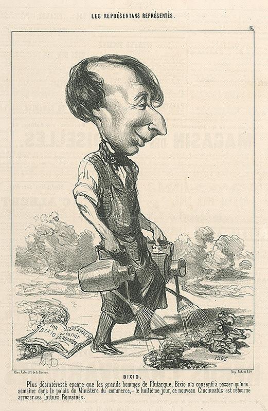 Honoré Daumier – Bixio