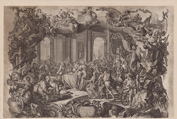 Johann Wolfgang Baumgartner, Johann Daniel Herz - Univerzitná téza